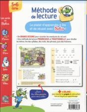 Méthode de lecture traditionnelle ; Ratus et ses amis - 4ème de couverture - Format classique