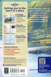 Indonesia (12e édition) - 4ème de couverture - Format classique