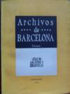 Los ARCHIVOS DE BARCELONA.1-Ciudad