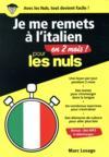 Je me remets à l'italien en 2 mois ! pour les nuls