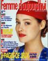 Femme D'Aujourd'Hui N°25 du 03/07/1989