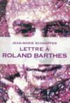 Lettre à Barthes