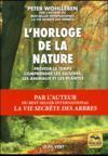 L'horloge de la nature (édition 2017)