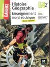 Les nouveaux cahiers ; histoire-géographie-EMC ; 2de bac pro ; manuel de l'élève (édition 2017)