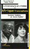 Litterature Et Cinema En Afrique Francophone