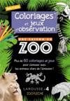 Une saison au zoo ; coloriages et jeux d
