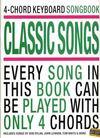 4 chord keyboard songbook classic songs