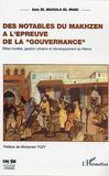 Des Notables Du Makhzen A L'Epreuve De La Gouvernance
