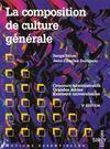 La Composition De Culture Generale