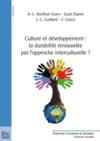Culture et développement : la durabilité renouvelée par l'approche interculturelle ?