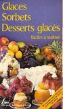 Sorbets desserts glaces