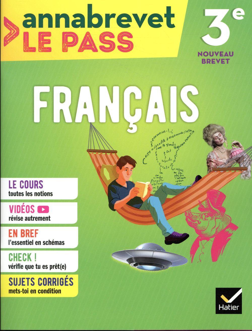 Annabrevet Le Pass Francais 3e Edition 2018 Formond