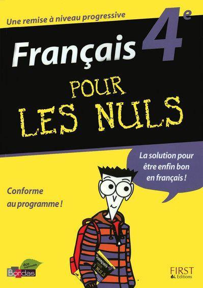 Francais Pour Les Nuls 4eme Helene Papiernik Livre