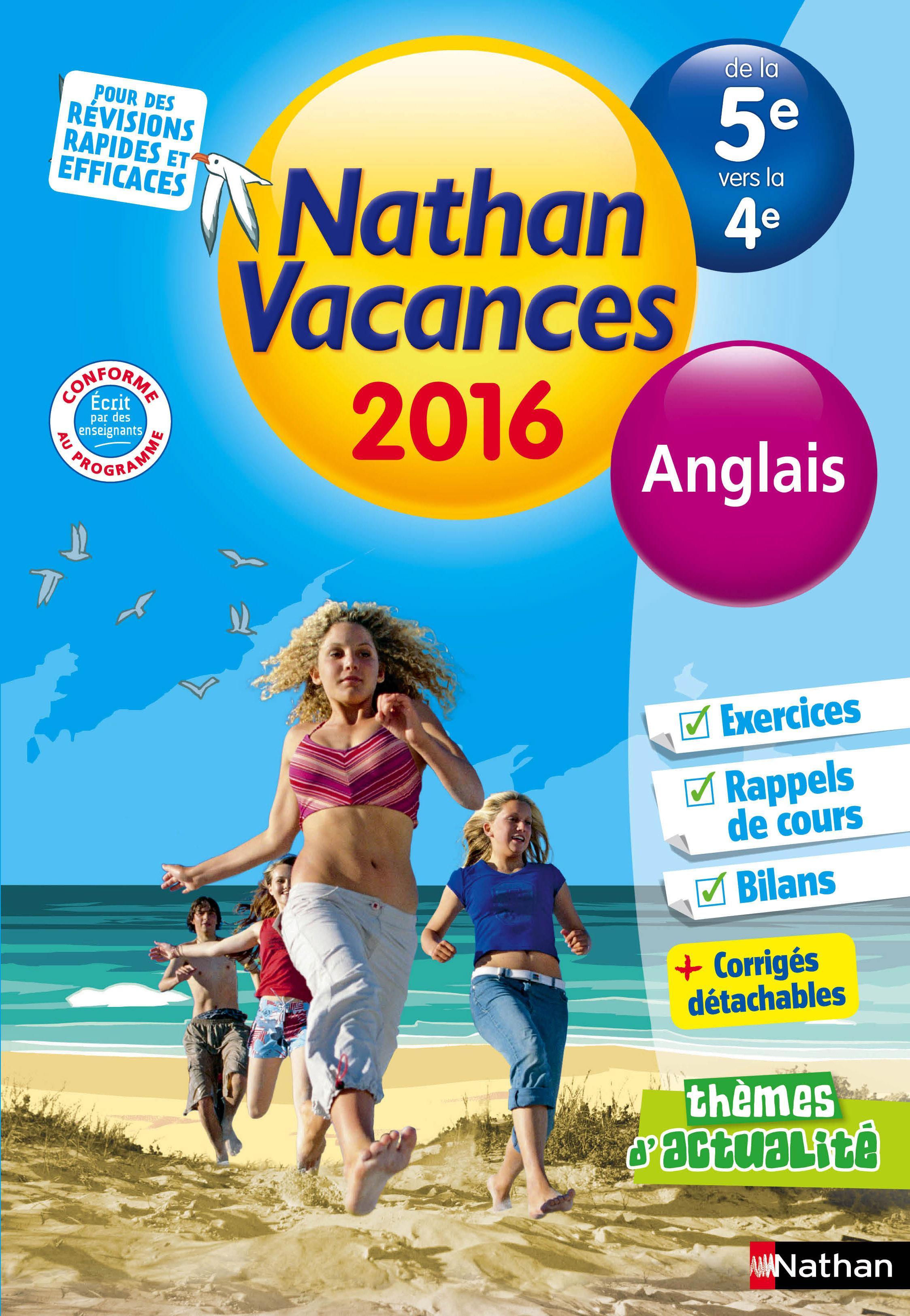 Cahier De Vacances 2016 College Anglais De La 5eme Vers La