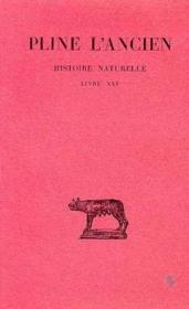Histoire naturelle L21 - Couverture - Format classique