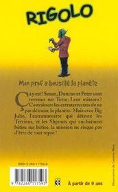 Rigolo T.22 ; Mon Prof A Bousille La Planete - 4ème de couverture - Format classique