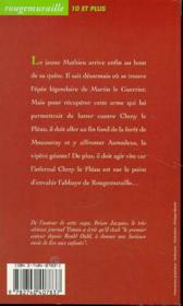 La vopère géante - 4ème de couverture - Format classique