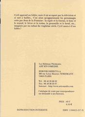 Les fables de notre temps ; creation collective en 3 tableaux - 4ème de couverture - Format classique