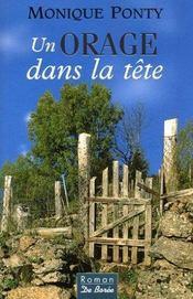 Orage Dans La Tete (Un) - Intérieur - Format classique