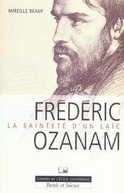 Frederic ozanam, la saintete d'un laic - Intérieur - Format classique