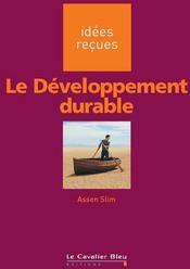 Le développement durable - Couverture - Format classique