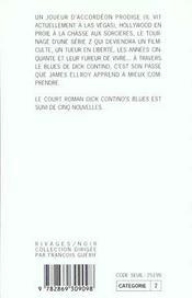 Dick Contino's blues - 4ème de couverture - Format classique