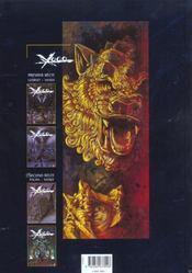 Xoco t.4 ; le dragon et le tigre - 4ème de couverture - Format classique