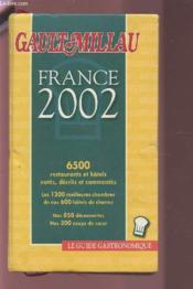 Guide Gault Et Millau France ; Edition 2002 - Couverture - Format classique