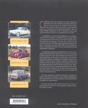 Citroen ds au pantheon de l'automobile - 4ème de couverture - Format classique
