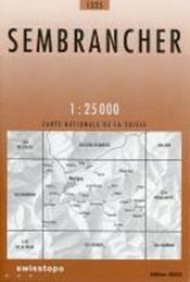 Sembrancher, Martigny, Catogne, Verbier - Couverture - Format classique