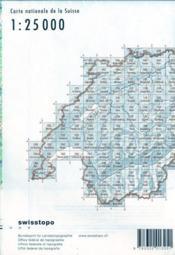 Sembrancher, Martigny, Catogne, Verbier - 4ème de couverture - Format classique