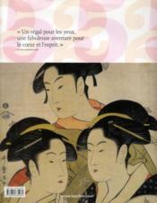 L'estampe japonaise - 4ème de couverture - Format classique