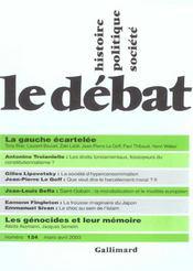 Revue Le Débat N.124 - Intérieur - Format classique