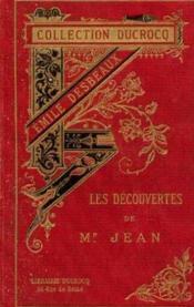 Les découvertes de monsieur jean, la terre et la mer - Couverture - Format classique