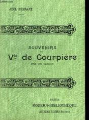Memoires Pour Servir A L'Histoire De La Societe. Souvenirs Du Vte De Courpiere. - Couverture - Format classique