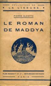 Le Roman De Maddya - Couverture - Format classique