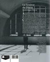 La fenêtre de Diane - 4ème de couverture - Format classique
