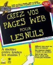 Creez Vos Pages Web Pour Les Nuls - Couverture - Format classique