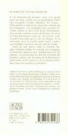 L'Ennemi Des Fourmis - 4ème de couverture - Format classique