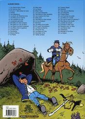 Les tuniques bleues t.50 ; la traque - 4ème de couverture - Format classique