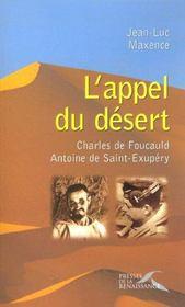 L'appel du desert - Intérieur - Format classique