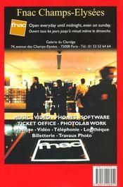 Euro travel guide 2000 - 4ème de couverture - Format classique