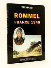 Rommel France 1940. - Couverture - Format classique