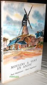 Moulins à vent en Anjou. - Couverture - Format classique