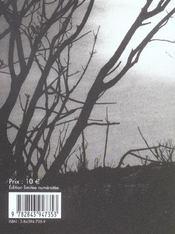Lasperge Sauvage - 4ème de couverture - Format classique