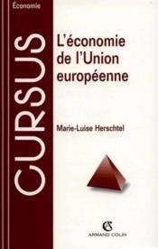 L'Economie De L'Union Europeenne - Couverture - Format classique
