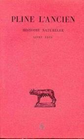 Histoire naturelle, livre 23 - Couverture - Format classique