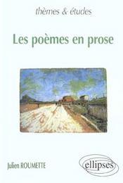 Les Poemes En Prose - Intérieur - Format classique