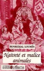 Naivete Et Malice Animales - Couverture - Format classique