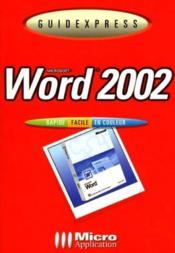 Guidexpress Word 2001 - Couverture - Format classique